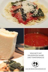 Spaghetti mit knusprigem Salbei