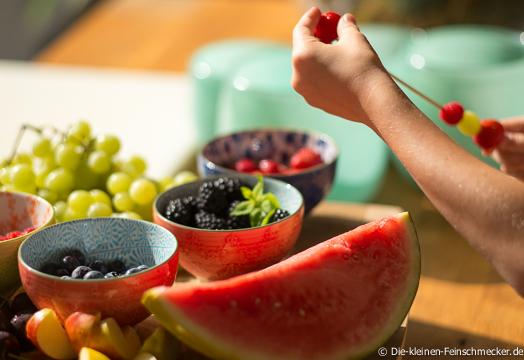 Obstspieße Selbermachen