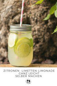 Zitronen Limetten Limonade