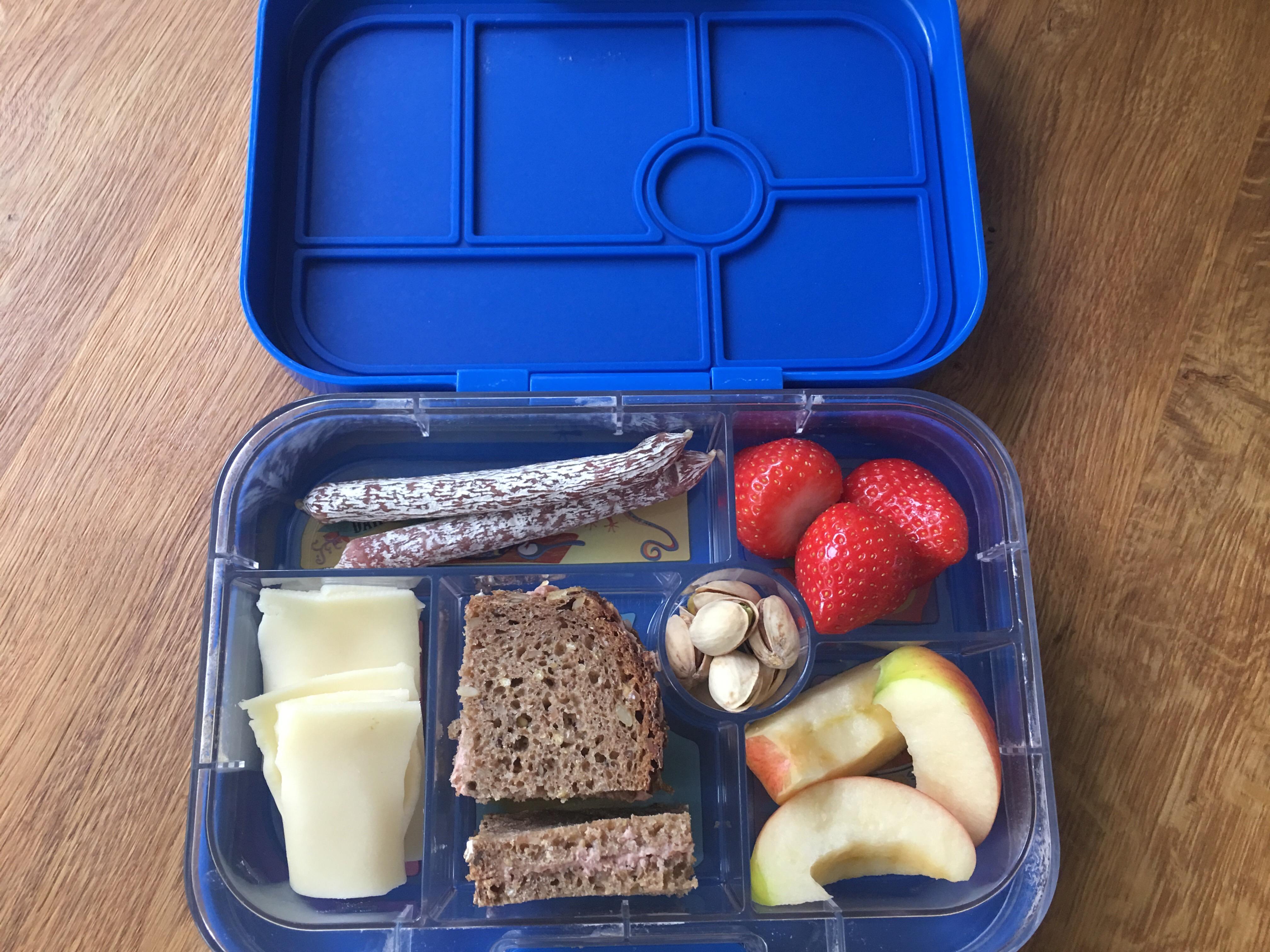Lunchbox für Kindergarten und Schule