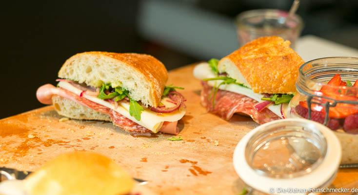 Das leckerste italienische Sandwich- Die Zubereitung