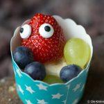 Mr. Berry- Erdbeere mit Zuckeraugen