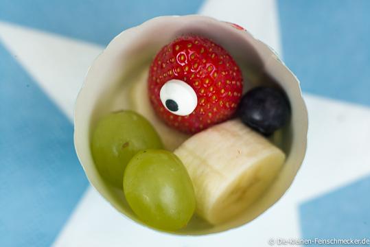 Monster Berry- Erdbeere mit Zuckerauge
