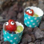 Mr und Mrs Berry- Erdbeeren mit Zuckeraugen