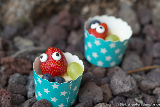 Mr. Berry- Erdbeeren mit Zuckeraugen