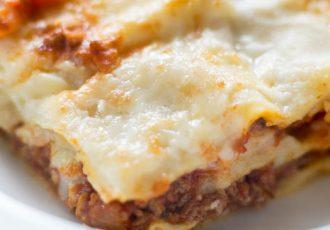 Rezept für Lasagne