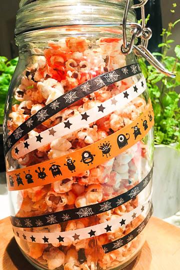 Popcorn mit karamellisiertem Zucker