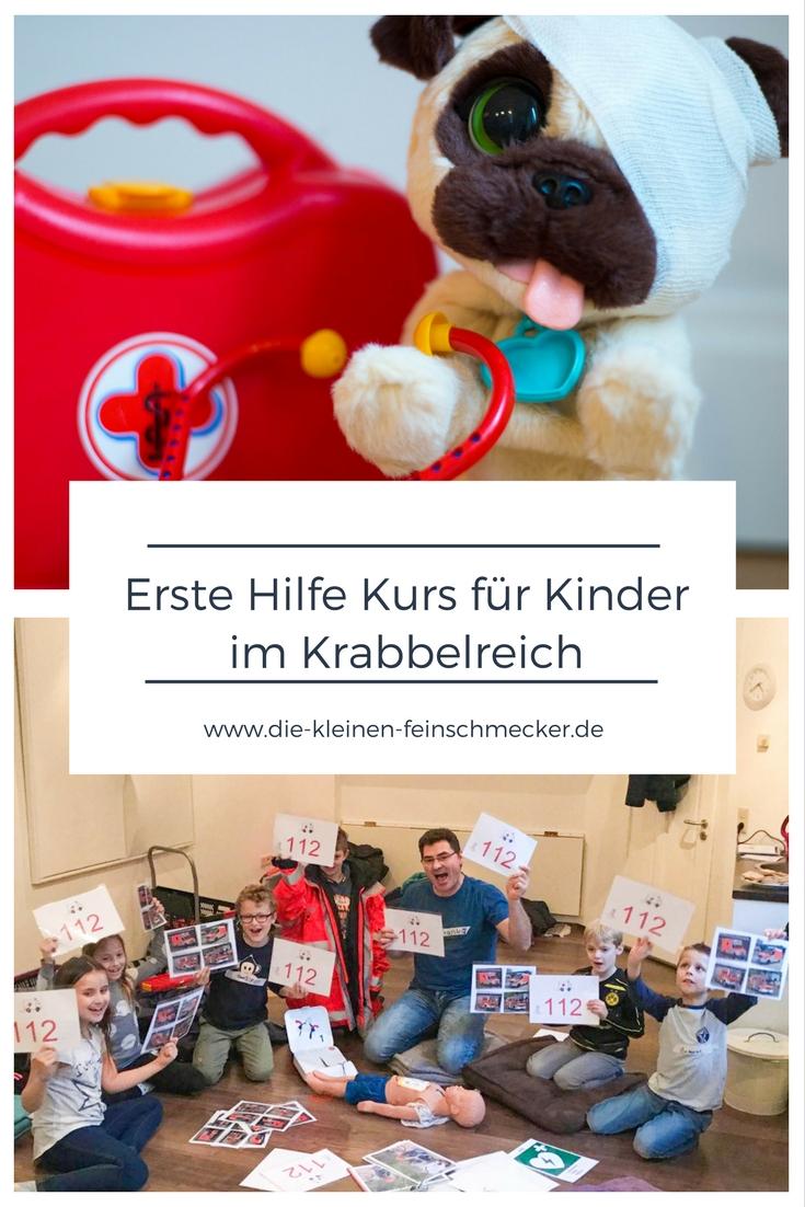Erste Hilfe Kurs für Kinder im Krabbelreich