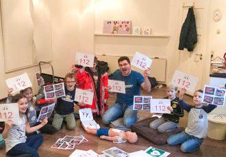 Erste Hilfe Kurs für Kinder