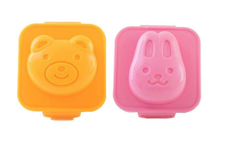 Eierformer für die Lunchbox zum Schulanfang