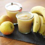 Bananen- Apfelmus selbst gemacht