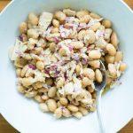 Einfacher Bohnen-Thunfisch-Salat