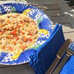 Bohnensuppe mit Lyoner Wurst