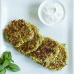 Knusprige Zucchini-Puffer