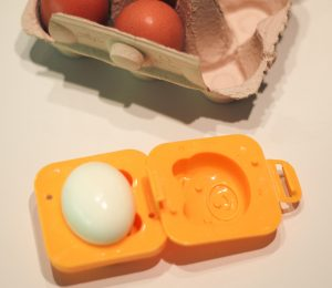 Anleitung geformte Eier - Eier in Eierformer