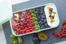 Lunchbox im Herbst