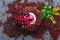Maulwurf-Muffins zu Halloween