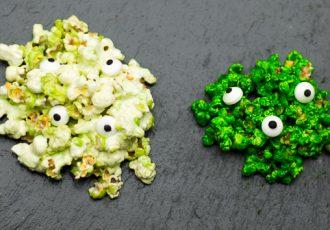 Popcorn Marshmallow Monster