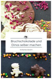 Bruchschokolade und Dinos selber machen