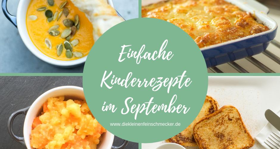 Rezepte für Kinder im September