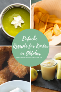 Einfache Rezepte für Kinder im Oktober