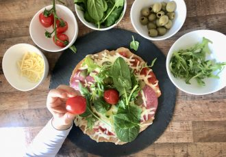 Express Pizza in der Pfanne