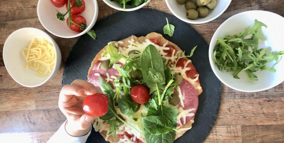 Express Pizza in der Pfanne