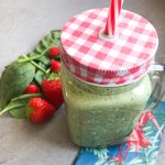 Smoothie Erdbeer-Spinat