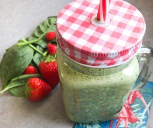 Smoothie Erdbeer-Spinat
