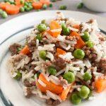 Reis-Hackfleisch-Pfanne-mit-Gemüse