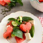 Wassermelone-Feta-Salat-mit-Minze.