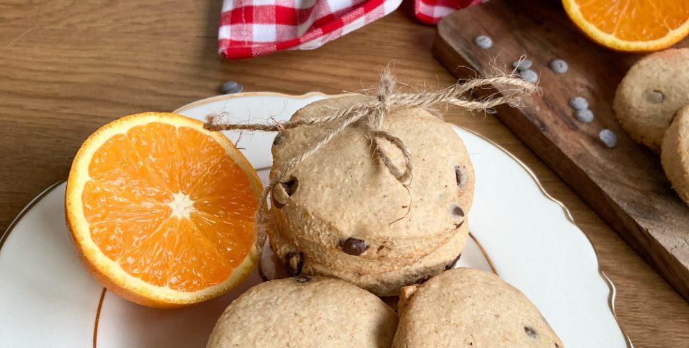 Schoko Orangen Kekse