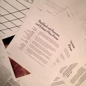 Gestaltung der Seiten
