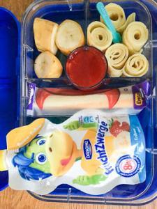 Fruchtzwerge und Pfannkuchen